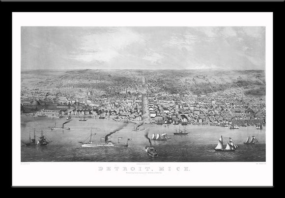 Detroit, Michigan • 1855