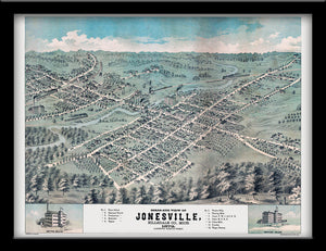 Jonesville, MIchigan • 1872