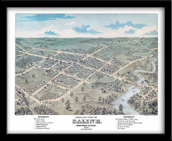 Saline, Michigan • 1872