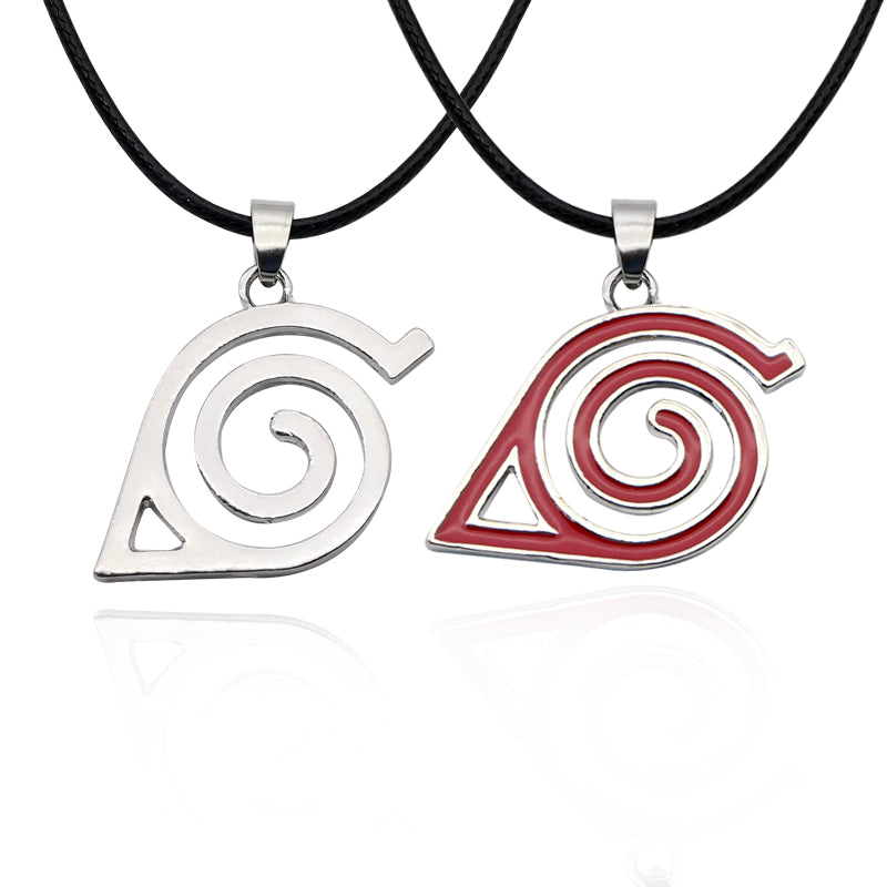 Naruto Konoha Nin Necklace  Leaf Village  Pendant Necklaces