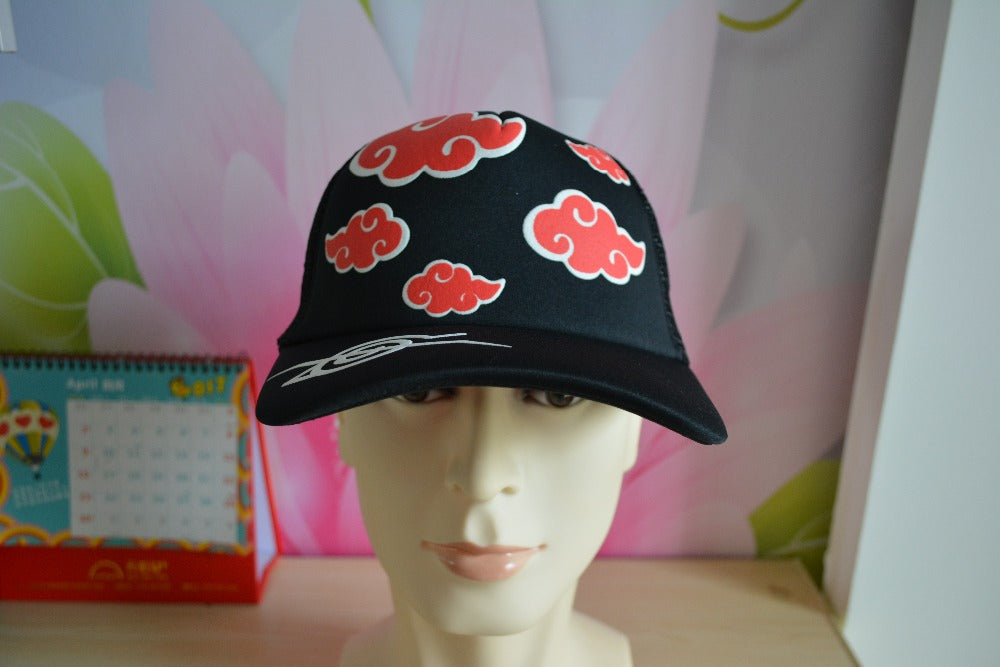 Naruto Akatsuki Baseball Adjustable Baseball Cap/Hat