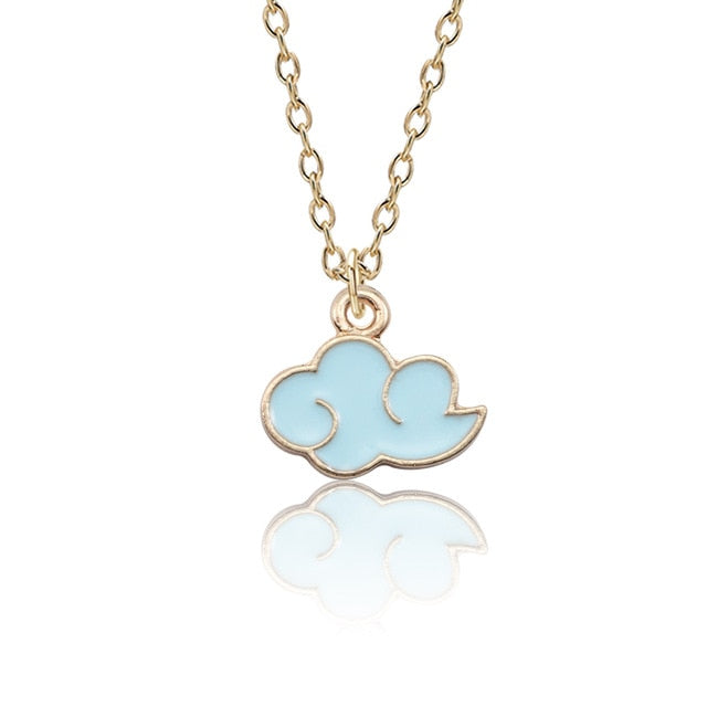 Naruto Akatsuki Cloud Necklace