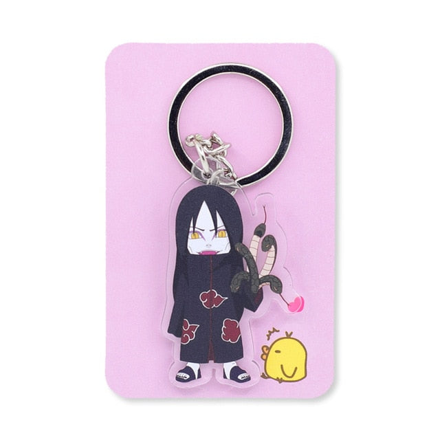 Cute Naruto Keychain Double Sided