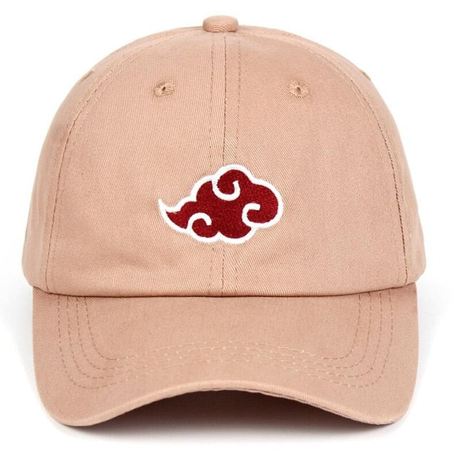 Akatsuki Naruto Hat Embroidery Logo Baseball Caps 100% Cotton