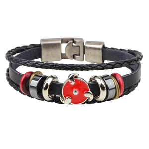 Naruto Leather Multi-layer Bracelets