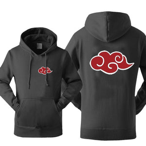 Naruto Akatsuki Red Cloud Hoodie Sweatshirt