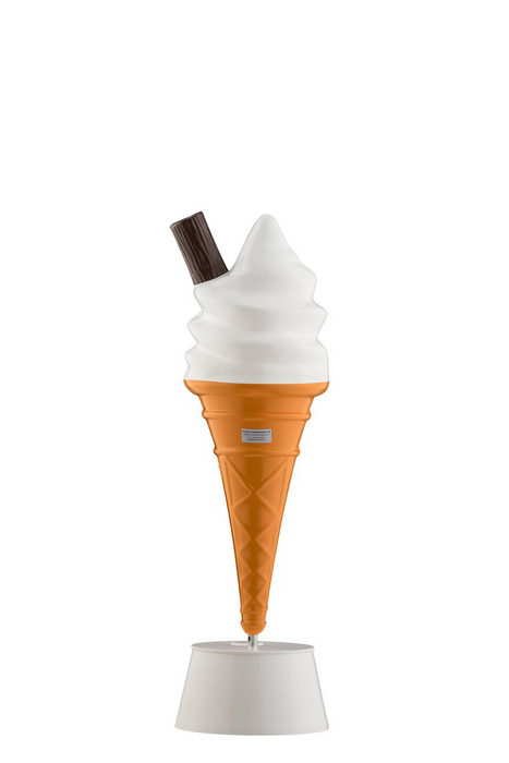 Whipped Ice Cream Cone Sign Standard Size Display