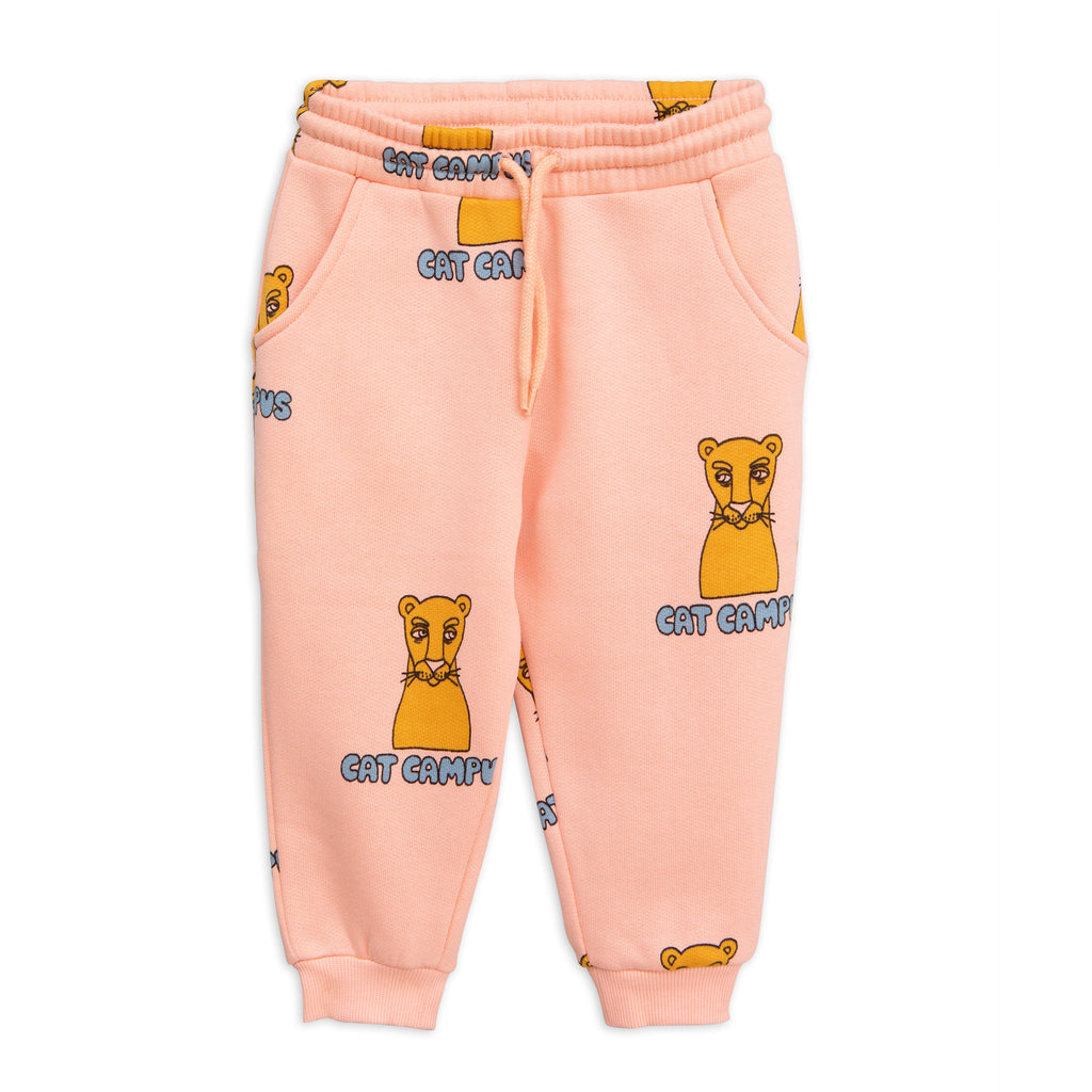 Mini Rodini Cat Campus Sweat Pants