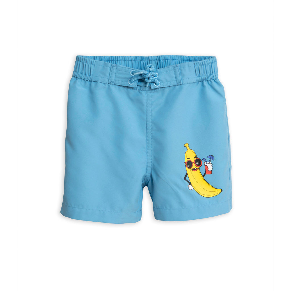 Mini Rodini Blue Banana Swim Shorts