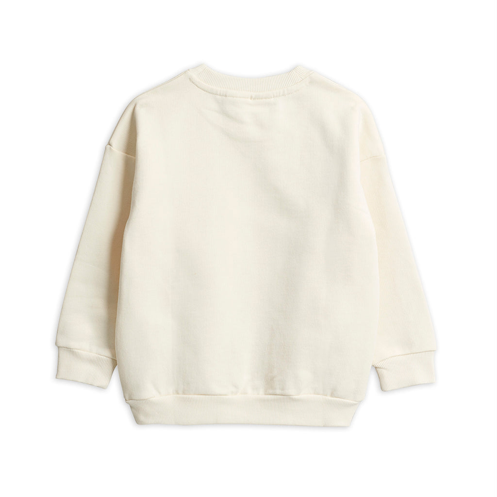 Mini Rodini Off White Popcorn Sweatshirt