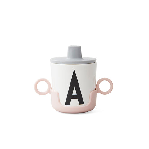 Design Letters Pink Cup Handle