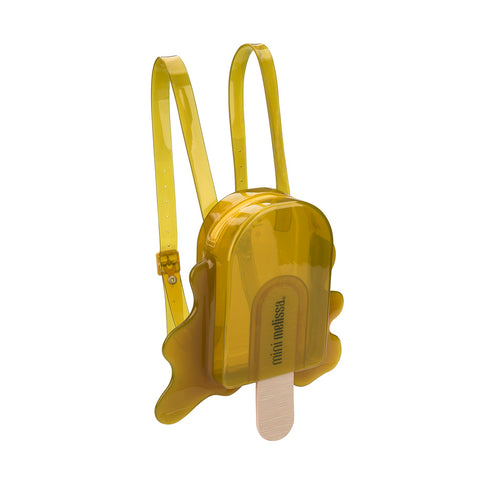 Mini Melissa 'Lollypop' Yellow Backpack