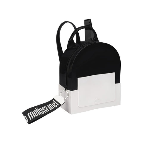 Mini Melissa 'Essential' Monochrome Backpack