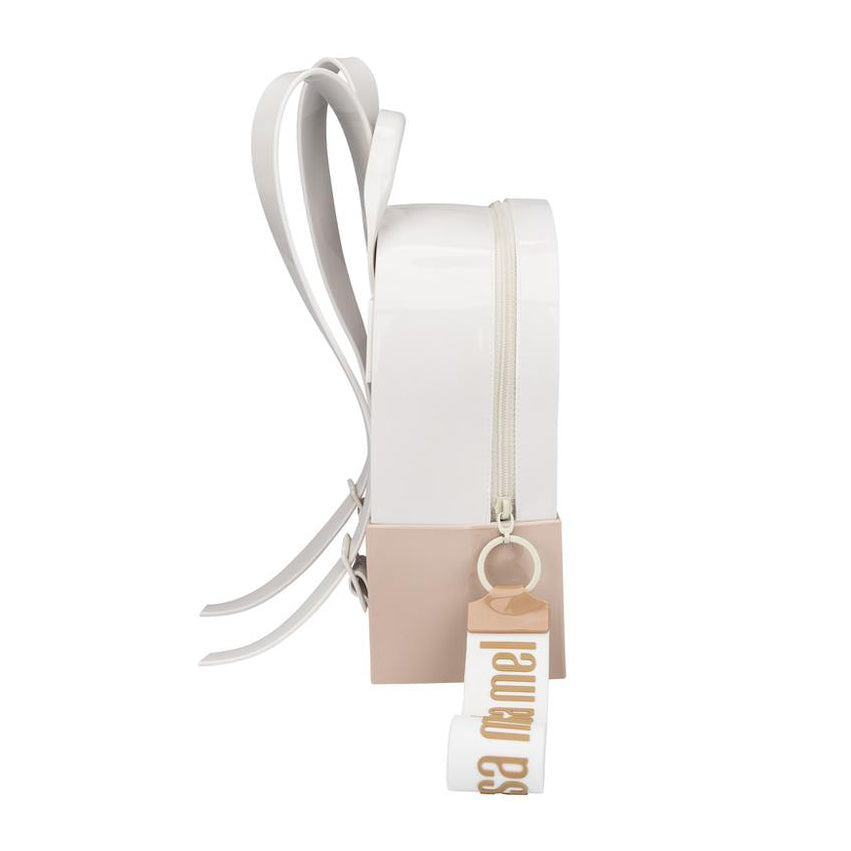 Mini Melissa 'Essential' White Backpack