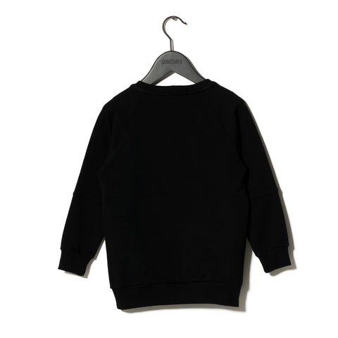 Sometime Soon Black Menlo Sweat