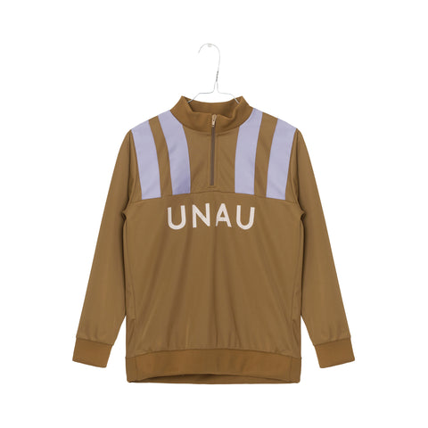 Unauthorized Brown Oliver Track Jacket