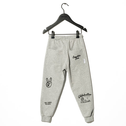 Sometime Soon Grey Carlos Track Pants