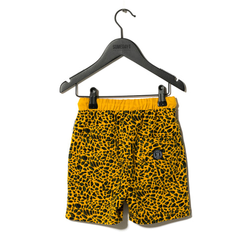 Sometime Soon Yellow Delano Shorts