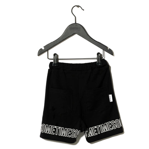 Sometime Soon Black Rio Shorts