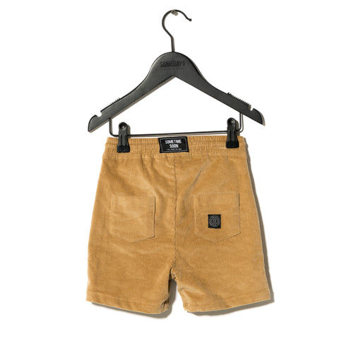 Sometime Soon Brown Jack Shorts