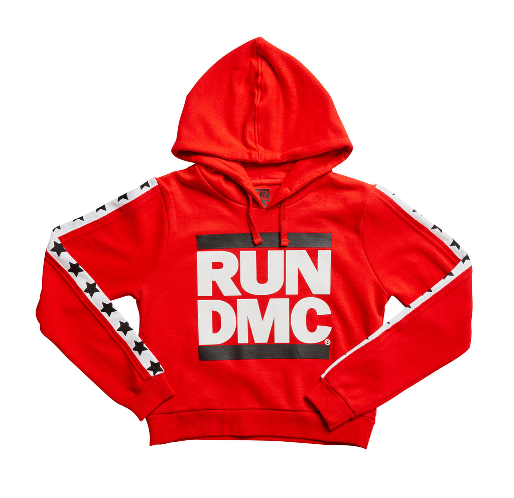 Eleven Paris 'June' Red Run DMC Hooded Sweat
