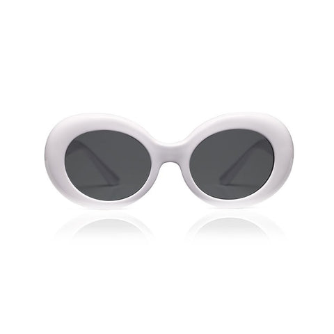 Sons and Daughters White Kurt Sunglasses