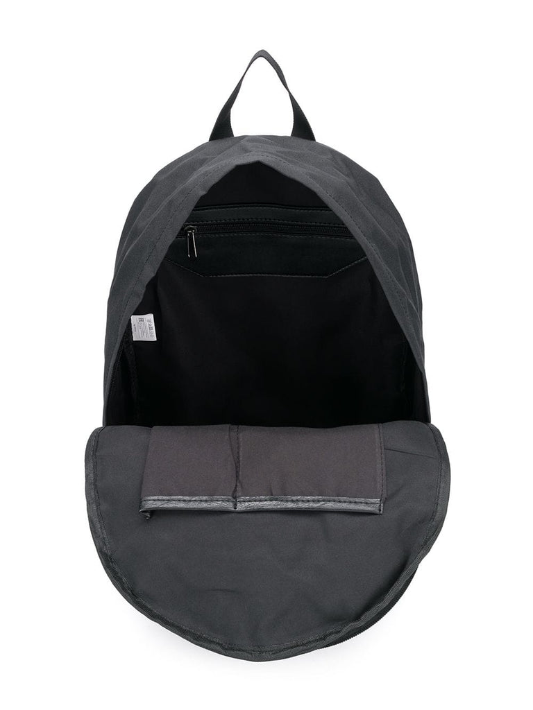 MSGM Black Nylon Logo Backpack