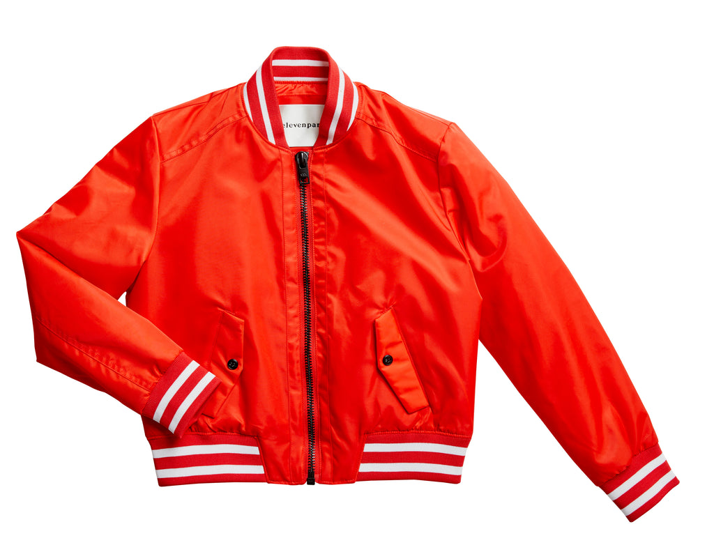 Eleven Paris 'Munkid' Red Run DMC Baseball Jacket