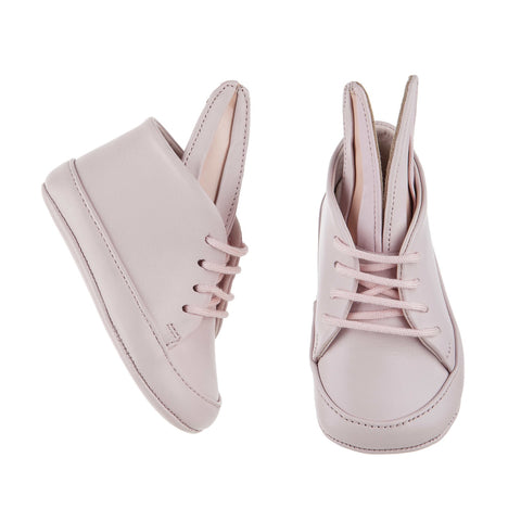 Minna Parikka All Over Pale Pink Baby Bunny Shoe