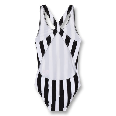 Finger In The Nose 'Olivia' Monochrome Striped Swimsuit