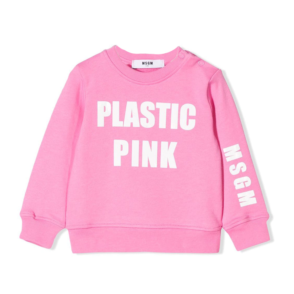MSGM 'Plastic Pink' Sweat