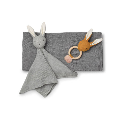Liewood Grey Petra Baby Knit Package