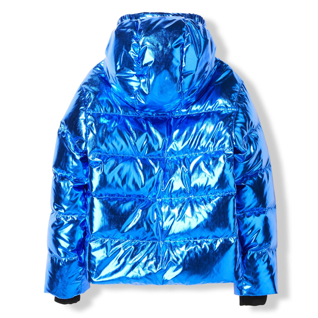 Finger In The Nose Blue Snowfield Down Jacket