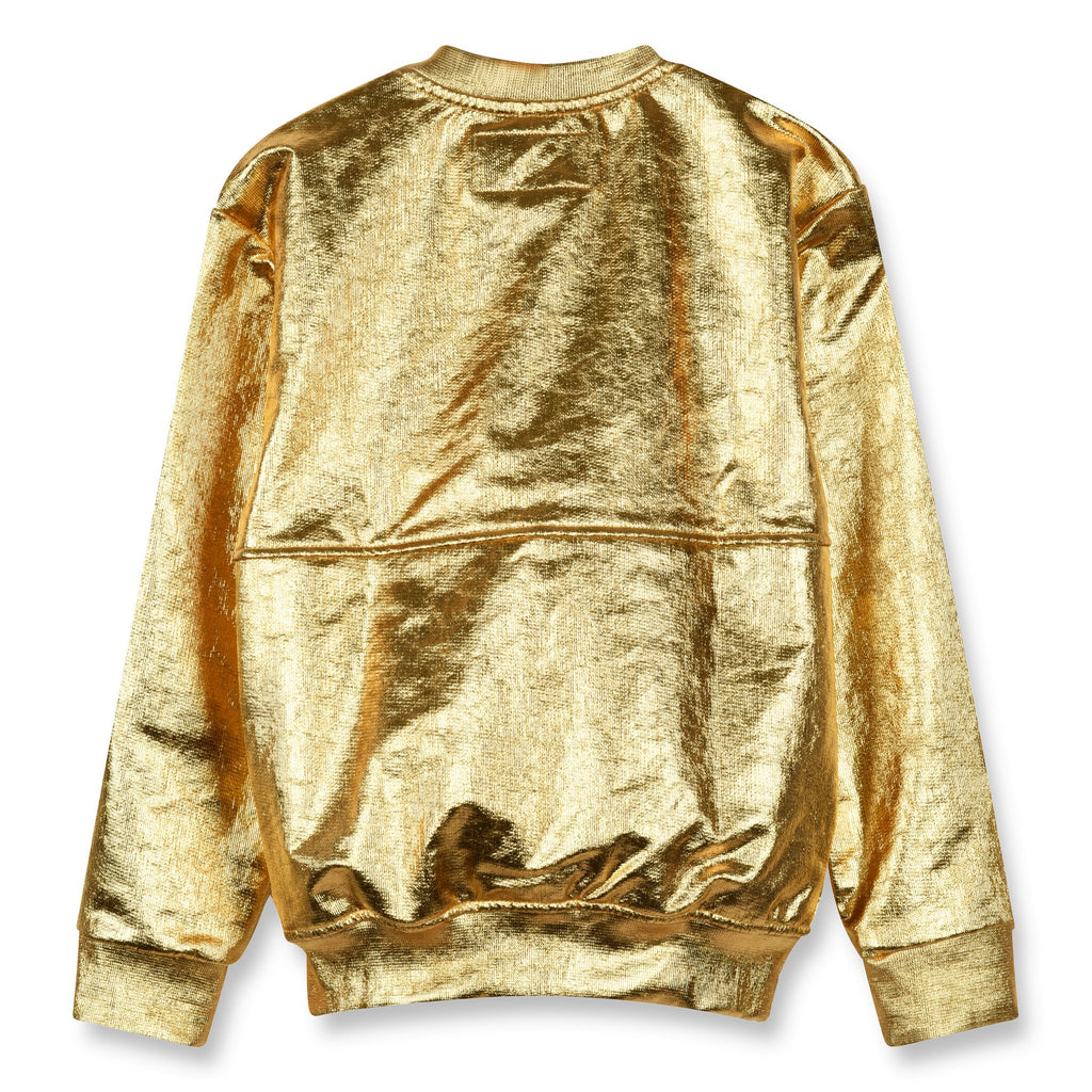 Finger In The Nose 'Super' Gold Sweat Jacket