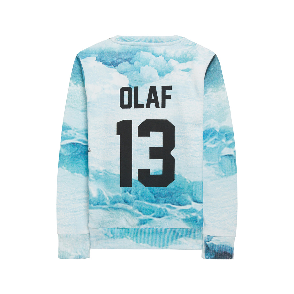 Little Eleven Paris White Olaf Sweat