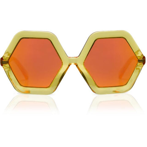 Sons and Daughters Yellow Honey Sunglasses