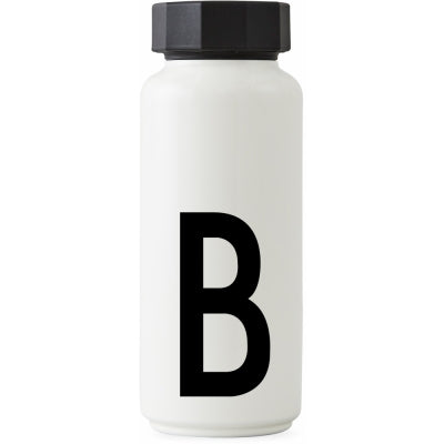Design Letters Thermo Initial Bottle
