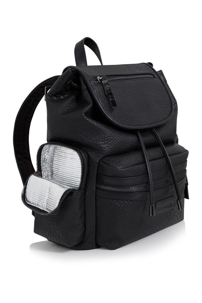 Tiba + Marl 'Kaspar' Black Backpack