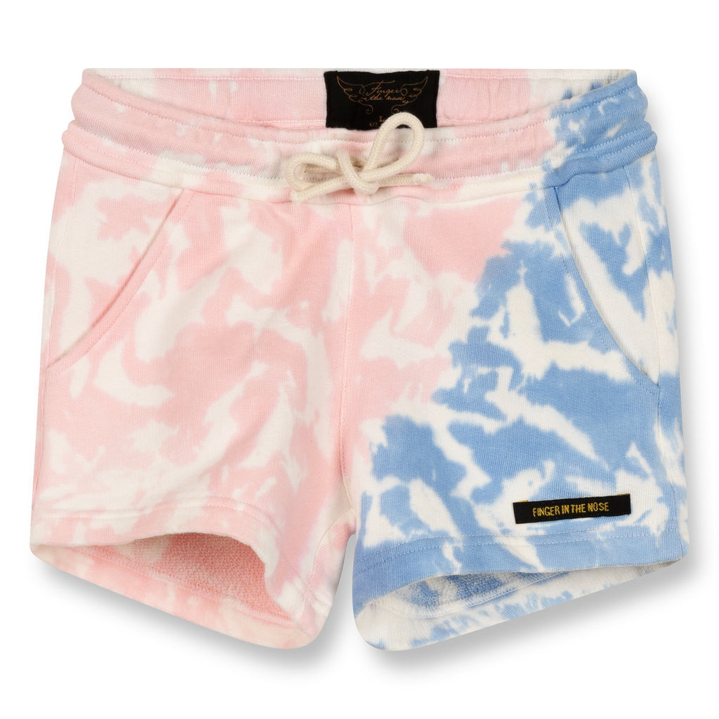 Finger In The Nose 'Trinity' Tie Dye Shorts