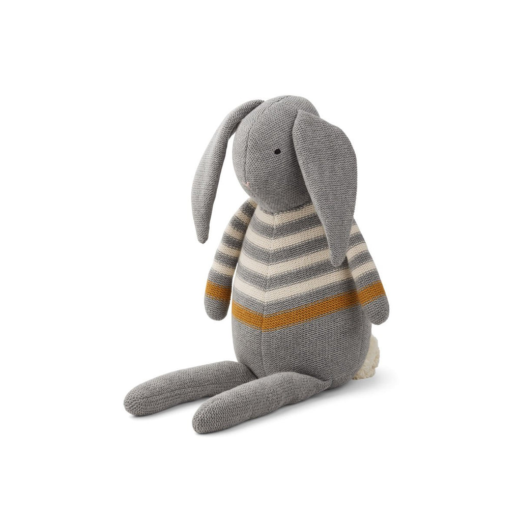 Liewood Grey Rabbit Dextor Knit Teddy