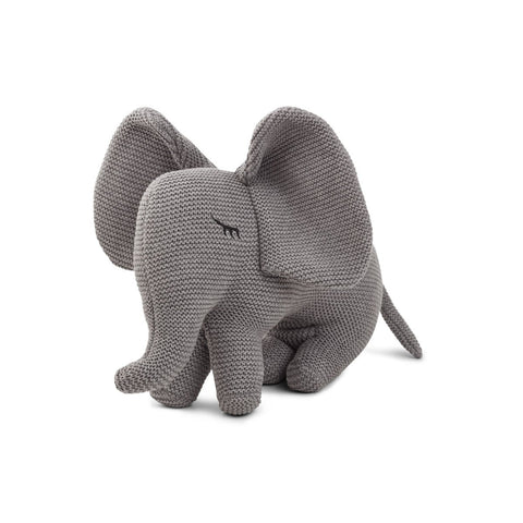 Liewood Grey Elephant Dextor Knit Teddy