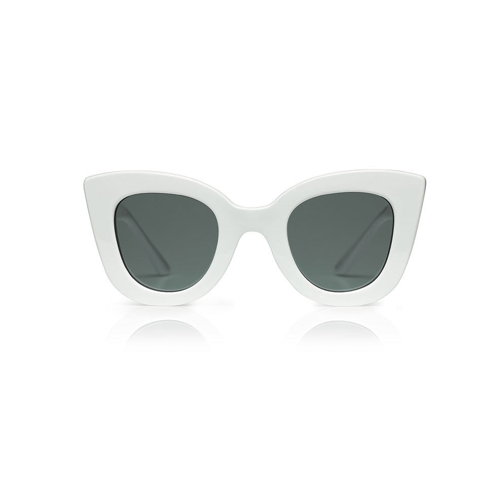 Sons and Daughters White Cat-Cat Sunglasses
