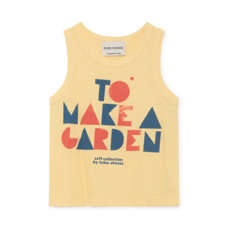 Bobo Choses Yellow Geometric Tank Top