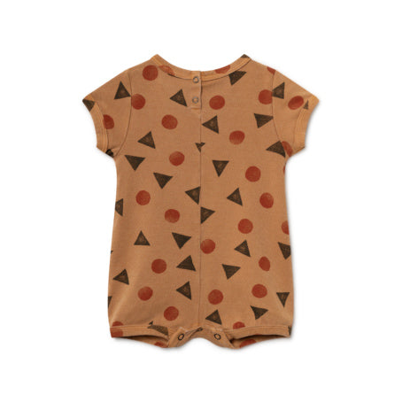 Bobo Choses Rust Pollen Playsuit
