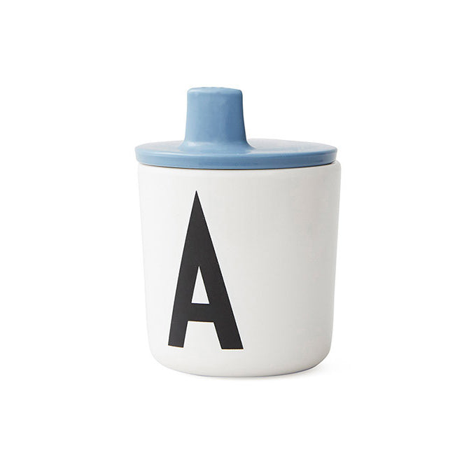 Design Letters Blue Drink Lid