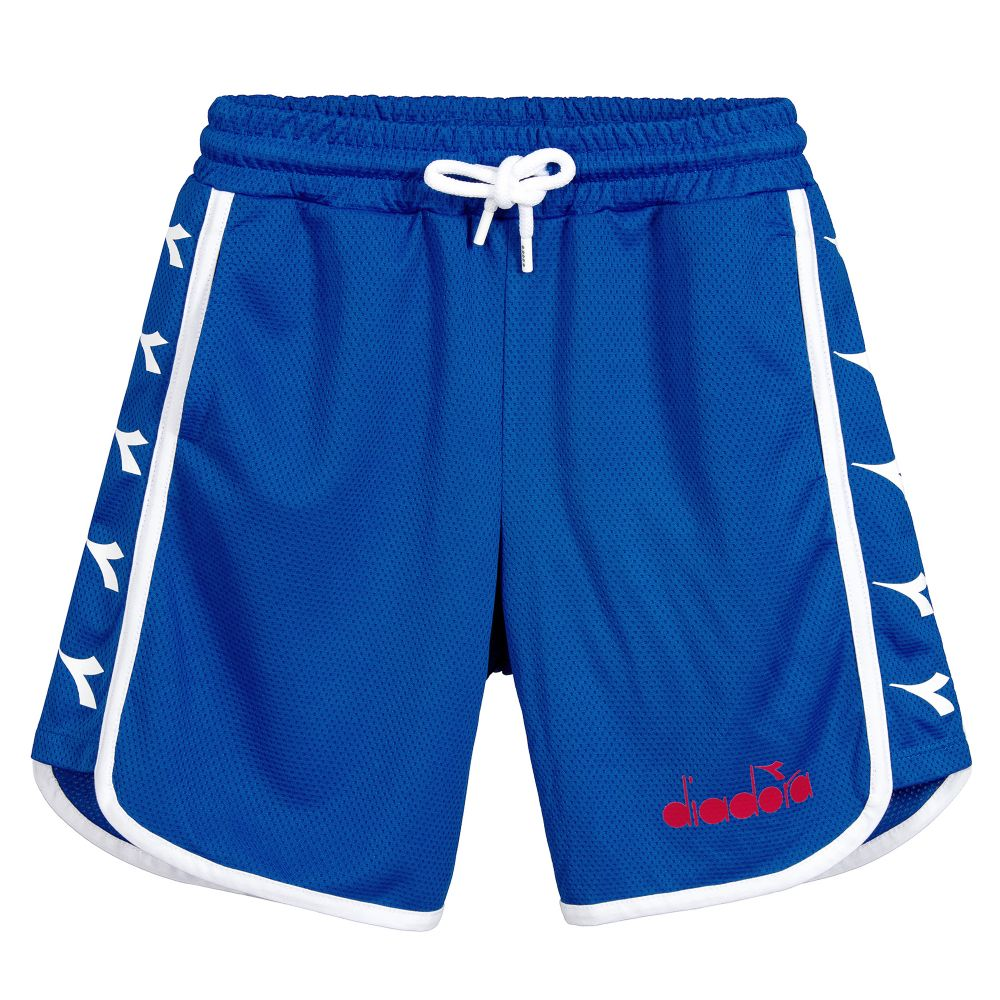 Diadora Blue Retro Bermuda Shorts