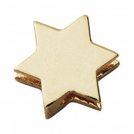 Design Letters Gold Star Charm