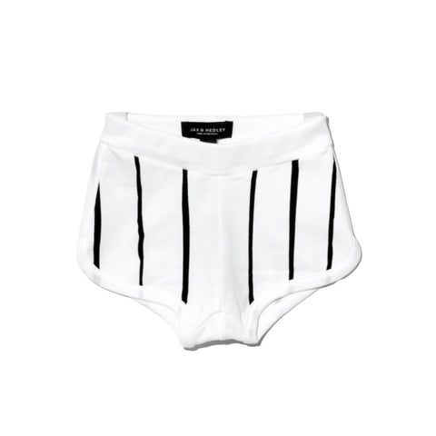 Jax and Hedley White Stripe Shorts