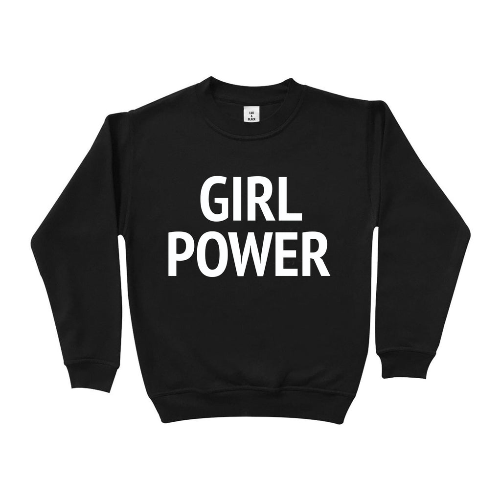 Lux & Black Exclusive Girl Power Sweat