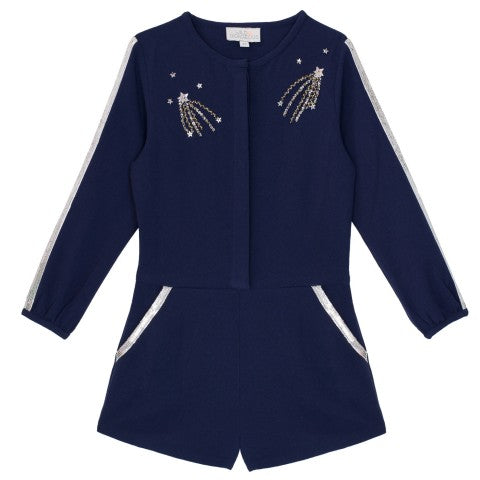 Wild And Gorgeous Navy Comet Playsuit